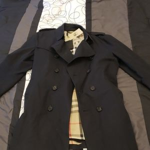 Men's Burberry coat. Only worn twice.